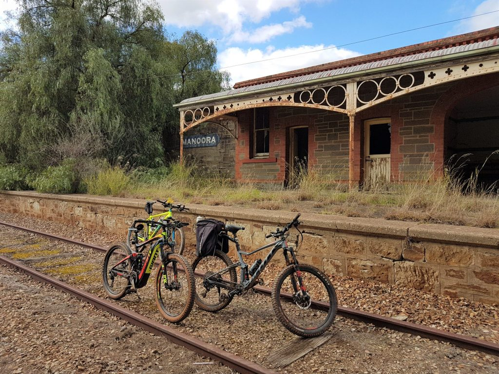 Lavender Cycling Trail (M2C) Clare to Waterloo - Abandoned Manoora Railway Station