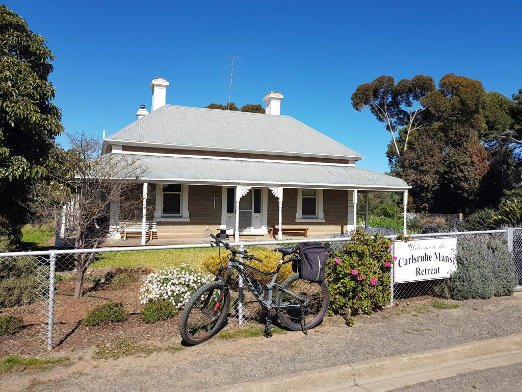 Lavender Cycling Trail (M2C) Clare to Waterloo - Manoora-to Webb Gap - Carlsruhe Manse Retreat