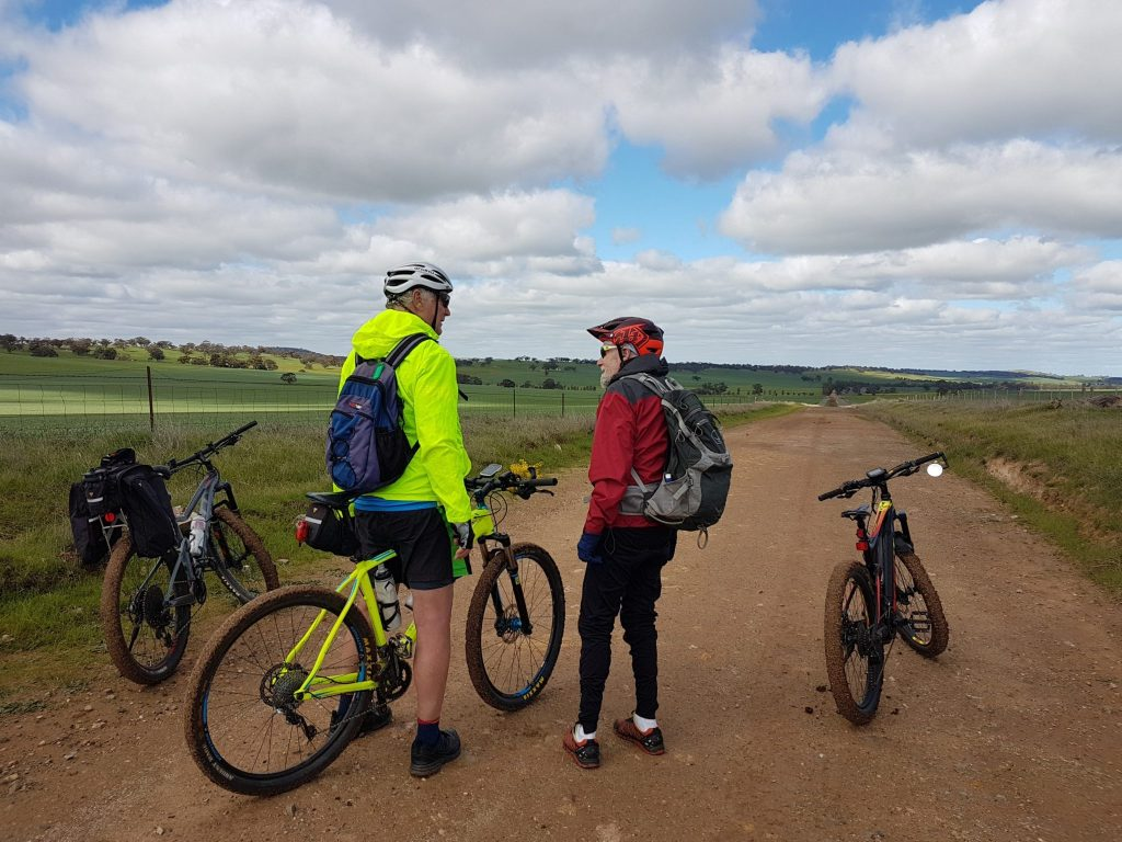 Lavender Cycling Trail (M2C) - Clare to Waterloo - On Blatchford Road