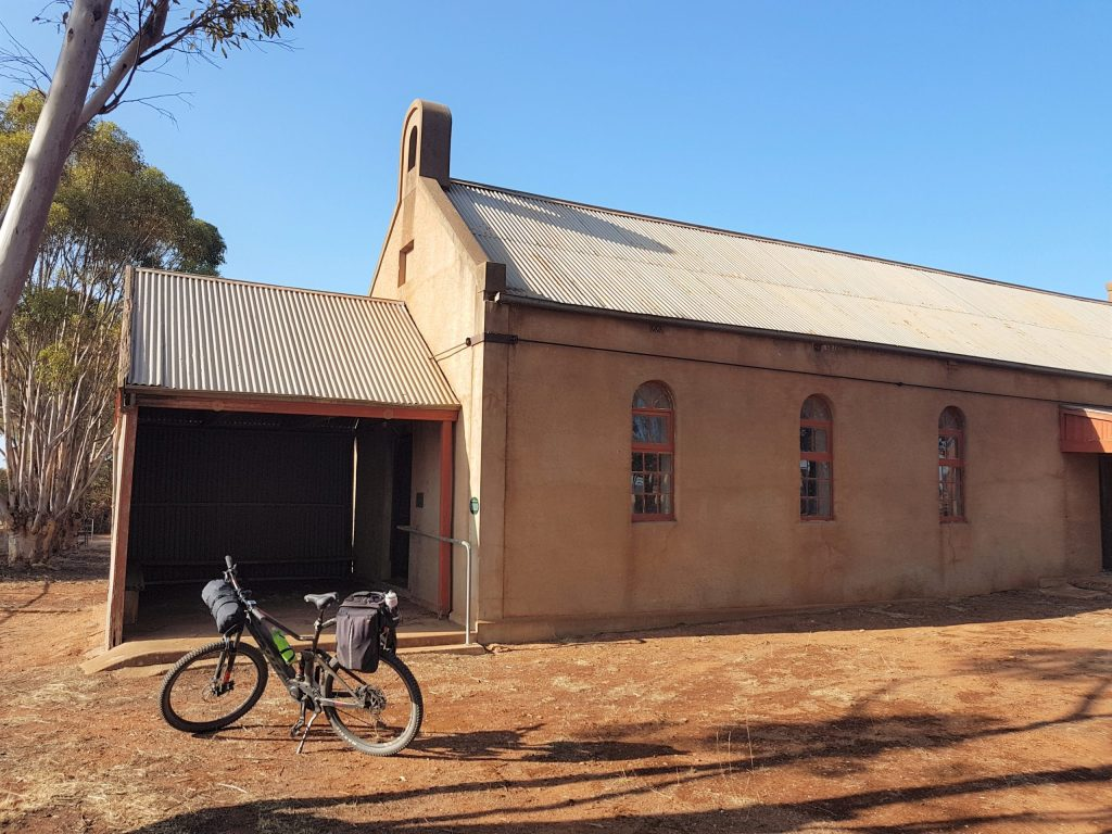 Lavender Cycling Trail (M2C) - Eudunda to Truro - Neales Flat Lutheran Church