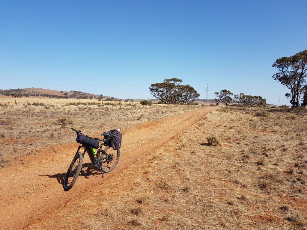 Lavender Cycling Trail (M2C) - Eudunda to Truro - On Heppner Road