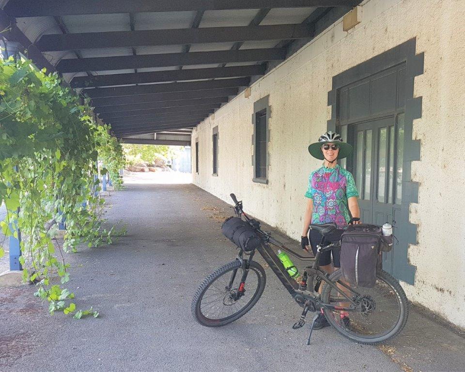 Lavender Cycling Trail (M2C) - Truro to Eden Valley - Eden Valley Wine Building