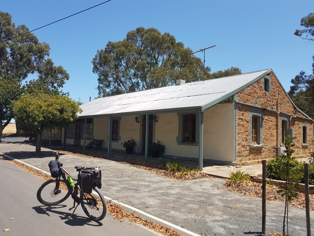Lavender Cycling Trail (M2C) - Truro to Eden Valley - Moculta historic cottages
