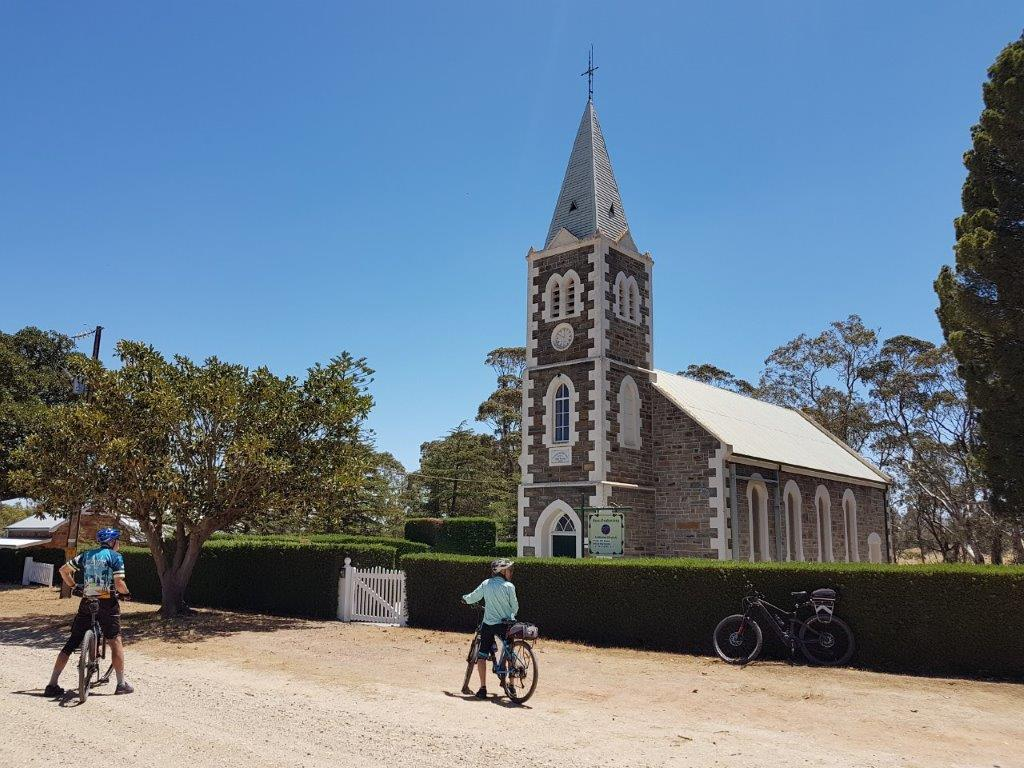 Lavender Cycling Trail (M2C) - Truro to Eden Valley - Parrot Hill Historic Site