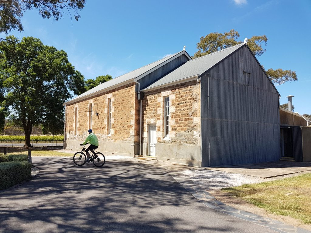 Lavender Cycling Trail (M2C) - Truro to Eden Valley - Soldiers Memorial Hall at Keyneton