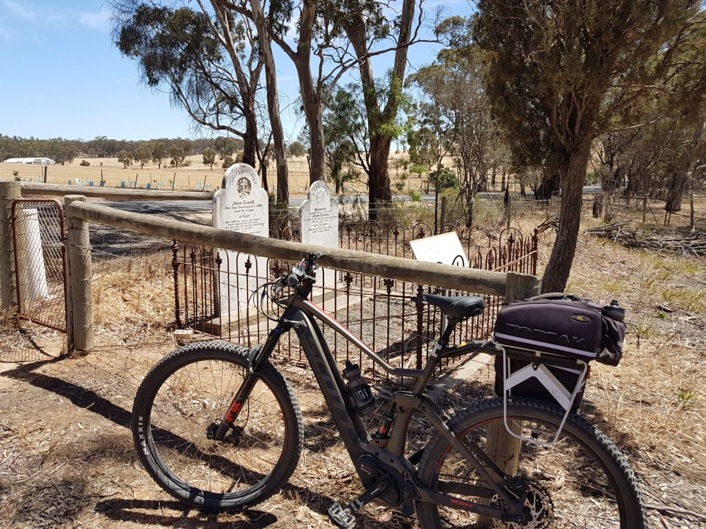 Lavender Cycling Trail (M2C) - Truro to Eden Valley - on Paschke Road