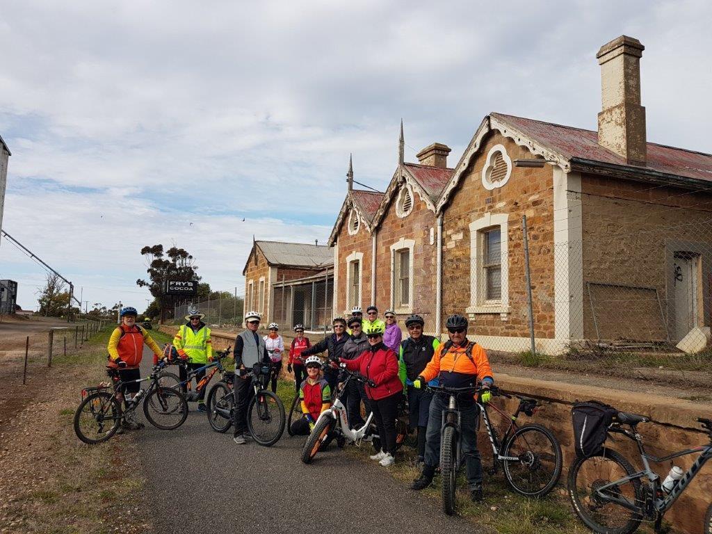 Lavender Cycling Trail (M2C) Waterloo to Eudunda - Eudunda Railway Station