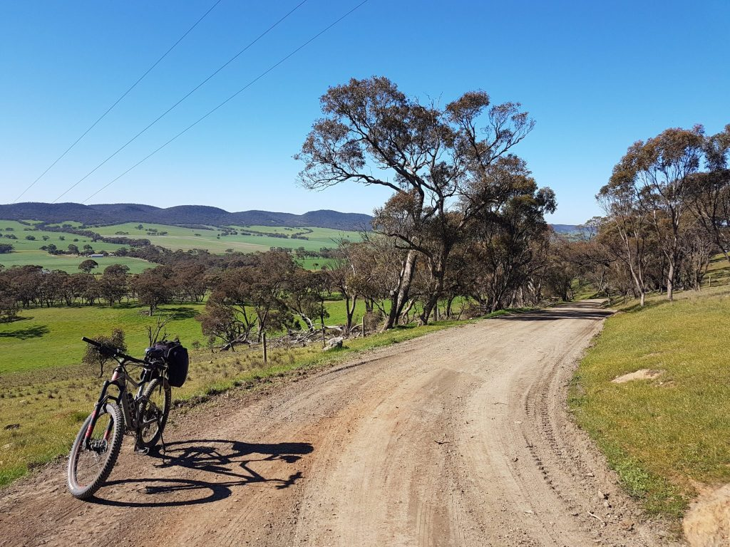 Lavender Cycling Trail (M2C) - Waterloo to Eudunda - On Quinns Gap Road