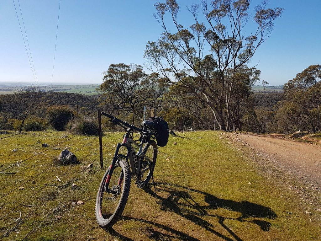 Lavender Cycling Trail (M2C) - Waterloo to Eudunda - Webbs-Gap - Looking East from Crest Aug 2019