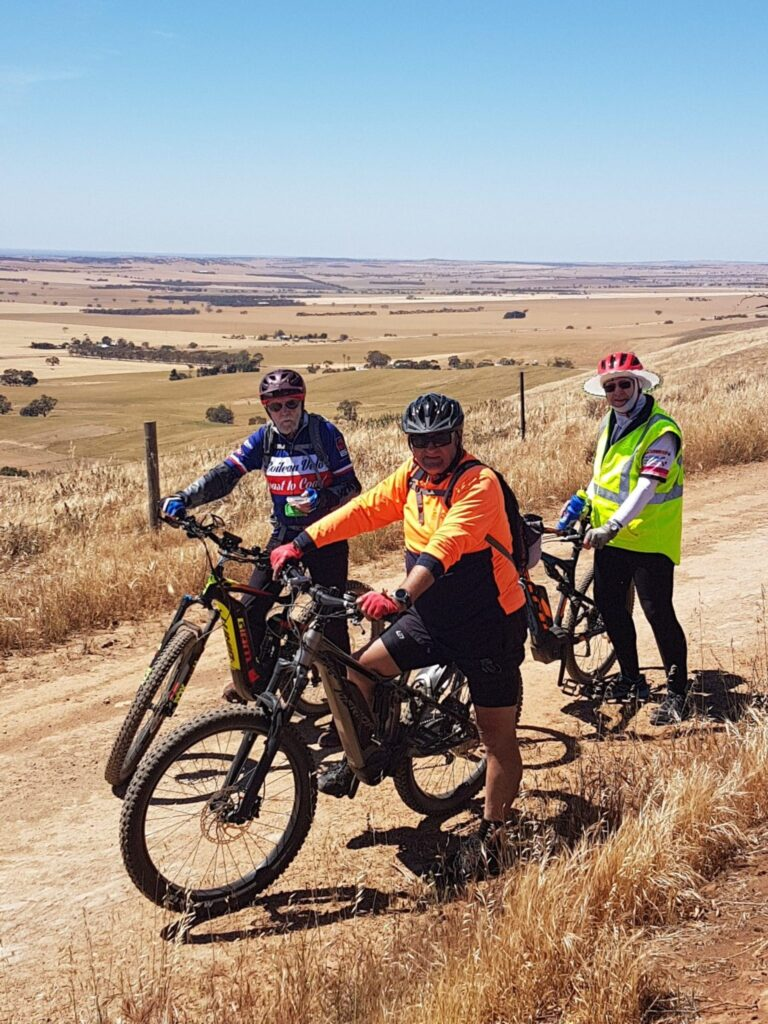 Lavender Cycling Trail (M2C) Waterloo to Eudunda - at Inspiration Point (West of Robertstown)