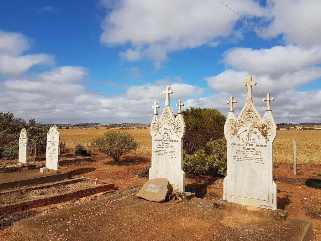avender Cycling Trail (M2C) - Eudunda to Truro - Neales Flat Lutheran Cemetery