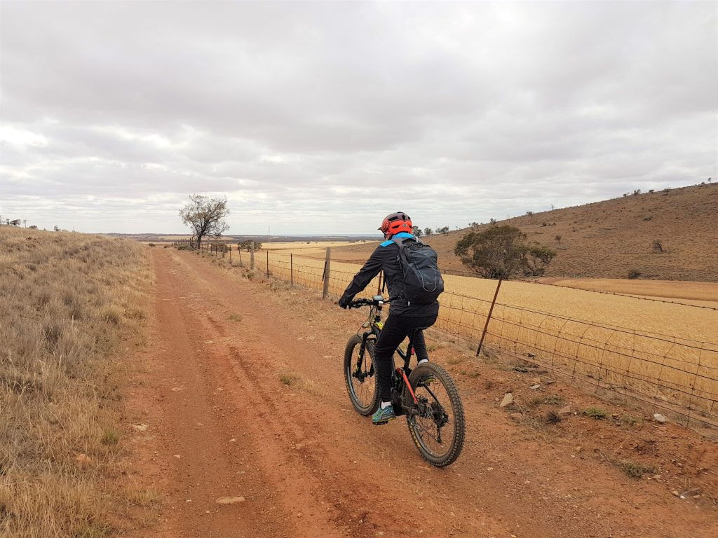 avender Cycling Trail (M2C) - Eudunda to Truro - on Rocky Road