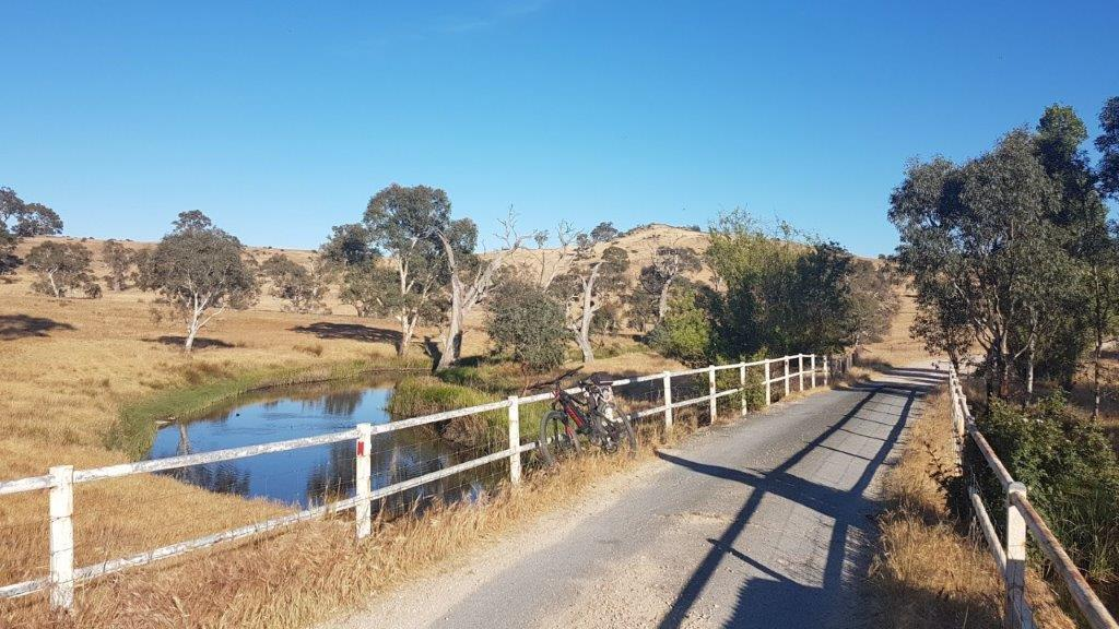 Lavender Cycling Trail (M2C) - Eden Valley to Mount Pleasant - Marne River (2)