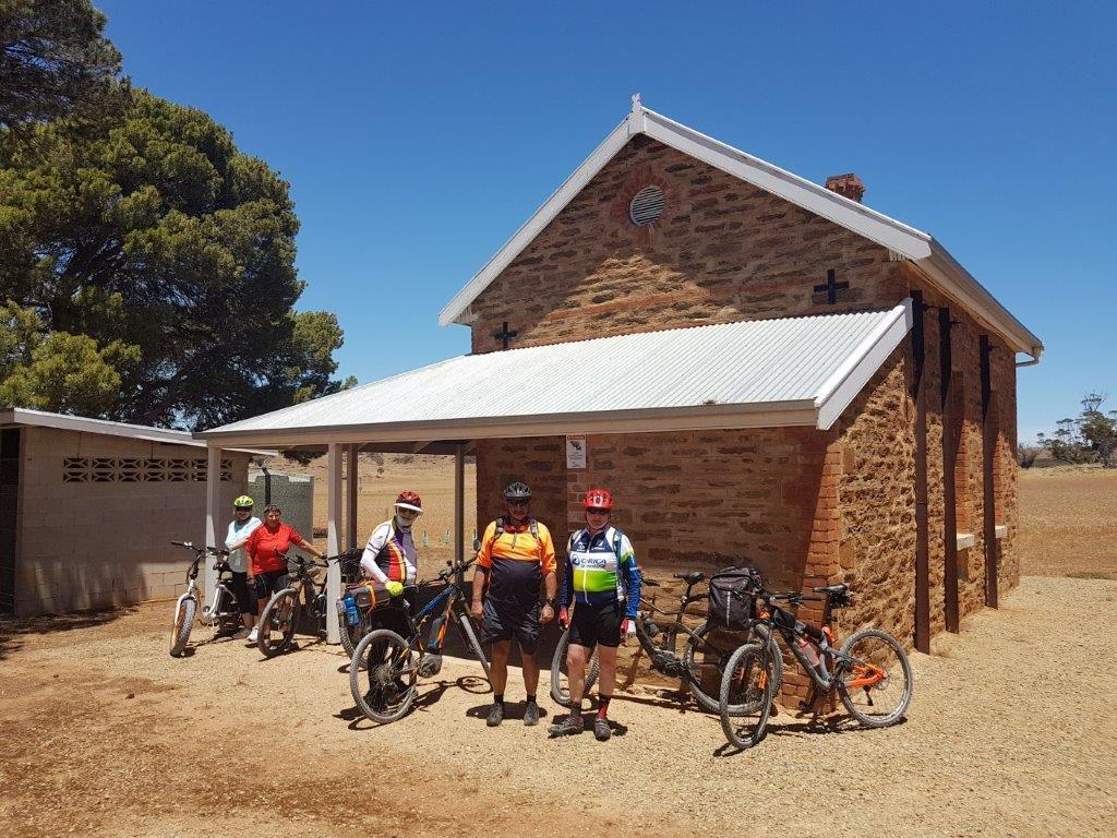Lavender Cycling Trail (M2C) - Mount Pleasant to Murray Bridge - Old Rockleigh School House