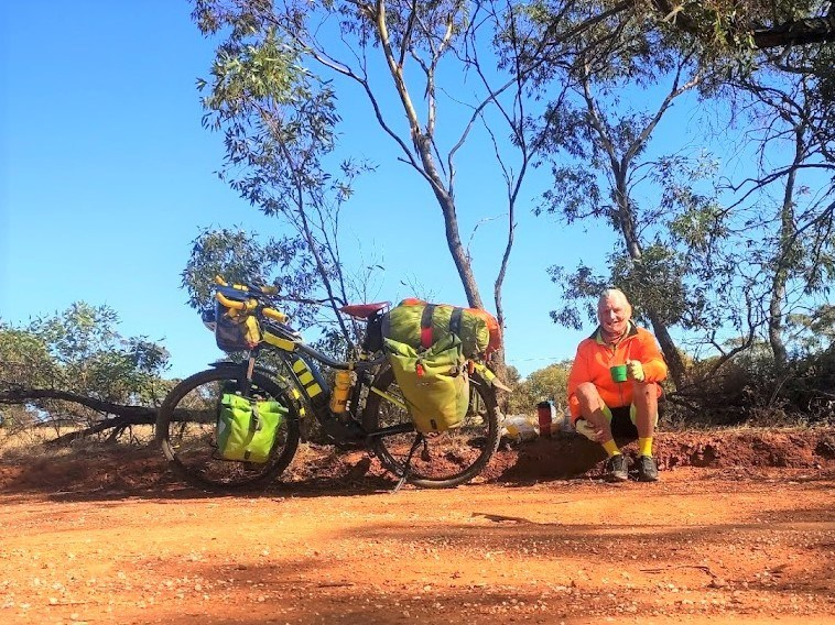 Lavender Cycling Trail (M2C) - Milestones - Peter Davis First Bike Packer -E2E - N2S